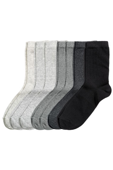 7-pack socks - Grey - Kids | H&M CN 1