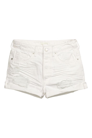 Shorts in jeans Trashed - Bianco - DONNA | H&M IT 1