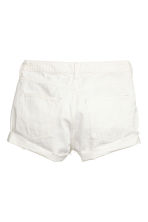 Shorts in jeans Trashed - Bianco - DONNA | H&M IT 2