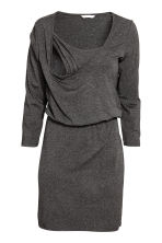 MAMA Nursing dress - Dark grey marl - Ladies | H&M CN 3