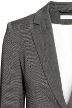 Fitted jacket - Dark grey/Patterned - Ladies | H&M GB 5