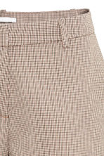Suit trousers - Beige/Checked - Ladies | H&M CN 5