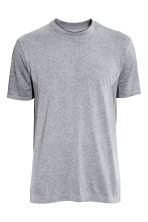 Seamless sports top - Grey marl - Men | H&M CN 2