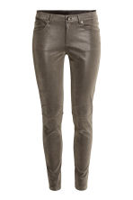 Stretch trousers - Dark grey - Ladies | H&M CN 2