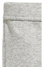 Jersey trousers - Grey marl -  | H&M 2