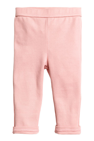 Jersey trousers - Light pink - Kids | H&M GB