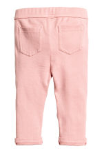 Jersey trousers - Light pink -  | H&M CA 2