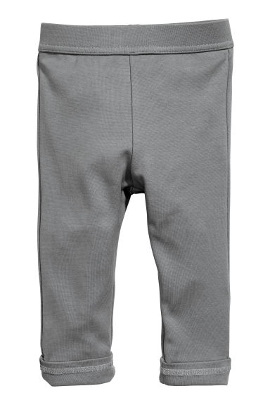 Jersey trousers - Dark grey - Kids | H&M CN 1