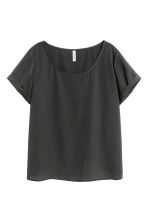 Ampio top con incrocio - Nero - DONNA | H&M IT 2