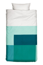 Turquoise/Light grey