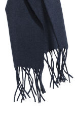 Wool scarf - Dark blue - Men | H&M 2