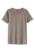 T-shirt - Dark grey marl - Men | H&M CN 2