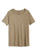 T-shirt - Khaki green - Men | H&M CN 2