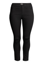 H&M+ Stretch trousers - Black/Ankle-length - Ladies | H&M CN 2