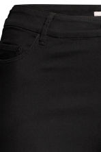 H&M+ Stretch trousers - Black/Ankle-length - Ladies | H&M CN 4