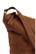 Shoulder bag - Brown/Imitation suede - Ladies | H&M CN 3