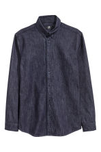 Camicia di jeans - Blu denim scuro - UOMO | H&M IT 2
