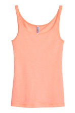 Jersey vest top - Apricot - Ladies | H&M CN 1