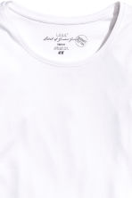 Long-sleeved jersey top - White - Ladies | H&M CN 4