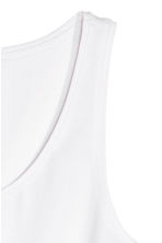 Jersey vest top - White - Ladies | H&M CA 3