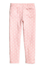 Jersey pyjamas - Light pink/Cat - Kids | H&M CN 2