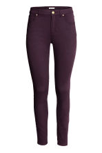 Superstretch trousers - Plum - Ladies | H&M CN 2