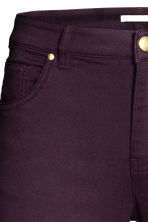 Superstretch trousers - Plum - Ladies | H&M CN 4