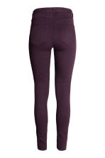 Superstretch trousers - Plum - Ladies | H&M CN 3