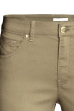 Superstretch trousers - Light khaki - Ladies | H&M CA 4