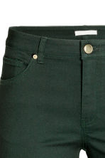 Superstretch trousers - Dark green - Ladies | H&M CN 4