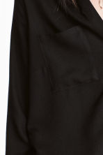 Viscose shirt - Black - Ladies | H&M GB 6