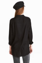 Viscose shirt - Black - Ladies | H&M GB 7