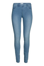 Superstretch treggings - Denim blue/Washed - Ladies | H&M CN 2
