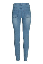 Superstretch treggings - Denim blue/Washed - Ladies | H&M CN 3