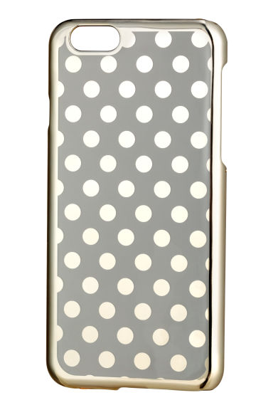 iPhone 6 case - Gold/Spotted - Ladies | H&M CN 1