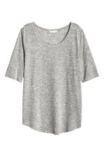 T-shirt in jersey - Grigio mélange - DONNA | H&M IT 2