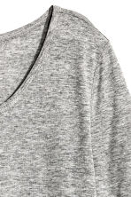 T-shirt in jersey - Grigio mélange - DONNA | H&M IT 3