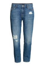 Girlfriend Trashed Jeans - Denim blue - Ladies | H&M 2