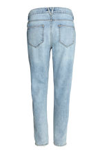 Girlfriend Trashed Jeans - Light denim blue - Ladies | H&M CN 3