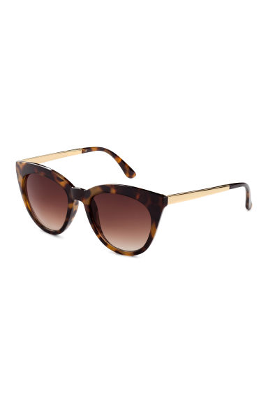 Sunglasses - Tortoise shell - Ladies | H&M CN 1