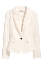 Fitted jacket - Natural white - Ladies | H&M CN 2
