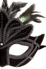Masquerade mask - Black - Ladies | H&M CN 2