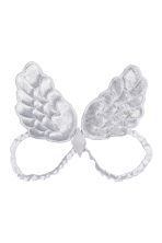 Dog angel wings - White/Silver - Ladies | H&M CN 1