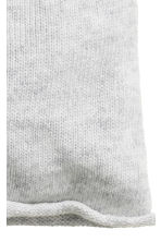 Knitted hat - Light grey marl - Ladies | H&M CN 2