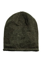 Knitted hat - 深绿色 - Ladies | H&M CN 1