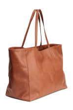 Shopper - Cognac brown -  | H&M GB 2