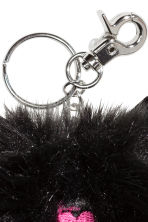 Keyring - Black/Cat  - Ladies | H&M CN 2