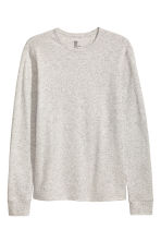 Waffled top - Grey marl - Men | H&M CN 2
