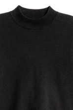 Turtleneck jumper - Black - Ladies | H&M CN 3