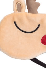 Sleep mask - Light beige/Reindeer - Ladies | H&M CN 2